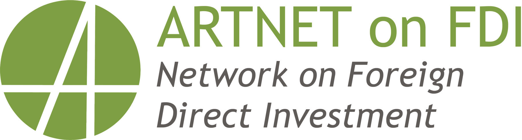 ARTNET on FDI: Network on Foreign Direct Investment