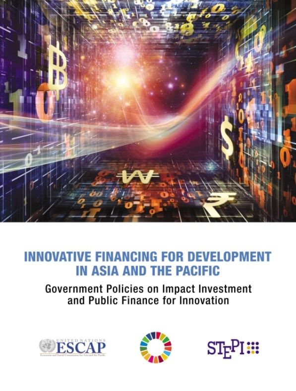 Publication: Innovative Financing for Development in Asia and the Pacific
